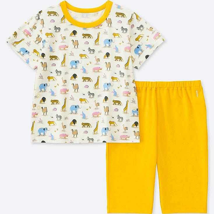 7998ad6ef TODDLER STUDIO SANDERSON FOR UNIQLO SHORT-SLEEVE DRY PAJAMAS