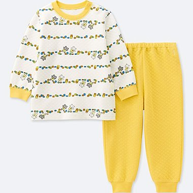 BABIES TODDLER QUILTED PYJAMAS LONG SLEEVE THE PICTURE BOOK