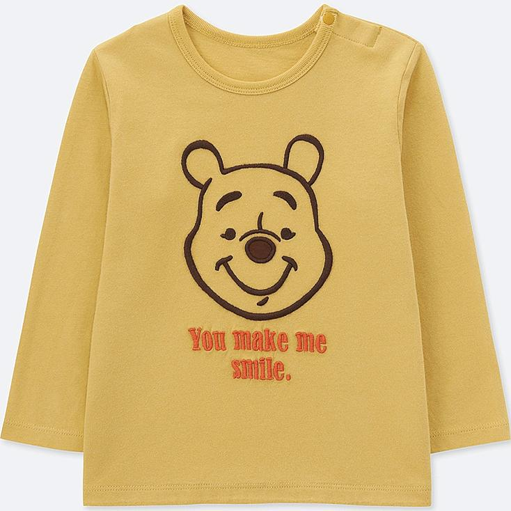 TODDLER DISNEY COLLECTION UT (LONG-SLEEVE GRAPHIC T-SHIRT), YELLOW, large