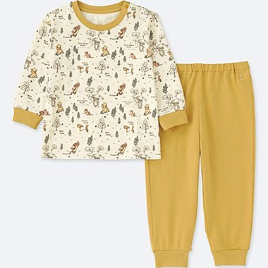 TODDLER DISNEY COLLECTION  LONG-SLEEVE PAJAMAS, YELLOW, medium