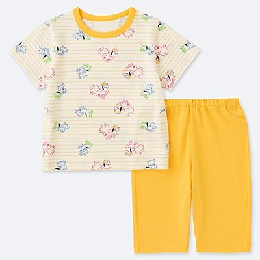 TODDLER PEPPA PIG DRY SHORT-SLEEVE PAJAMAS, YELLOW, medium