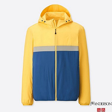 MEN POCKETABLE PARKA (JW Anderson), YELLOW, medium
