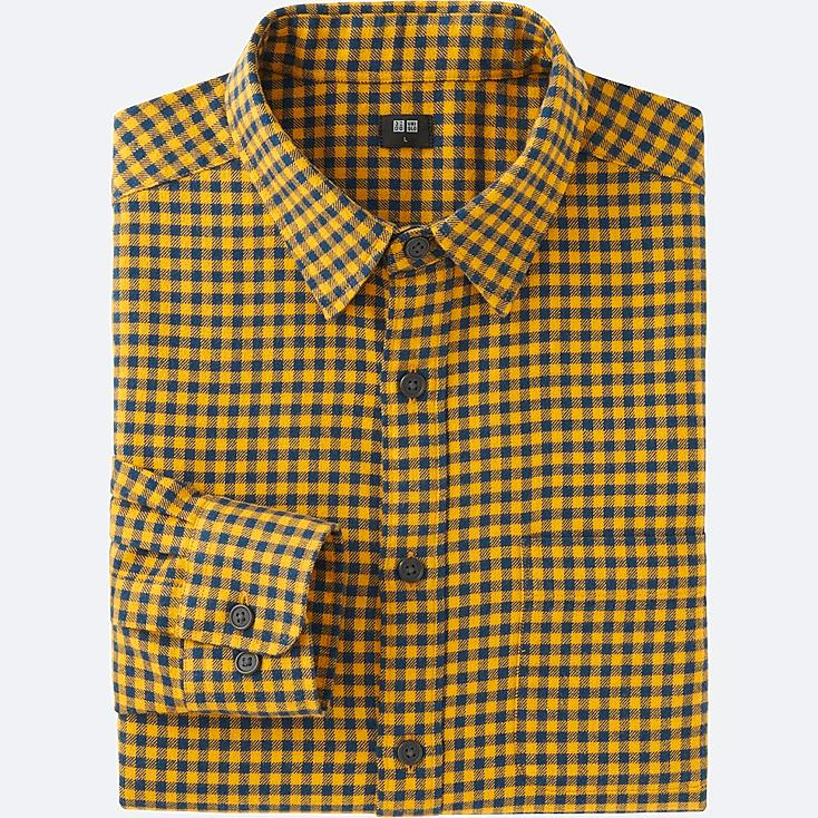 Mens yellow check shirt south park t shirts for Mens yellow gingham shirt