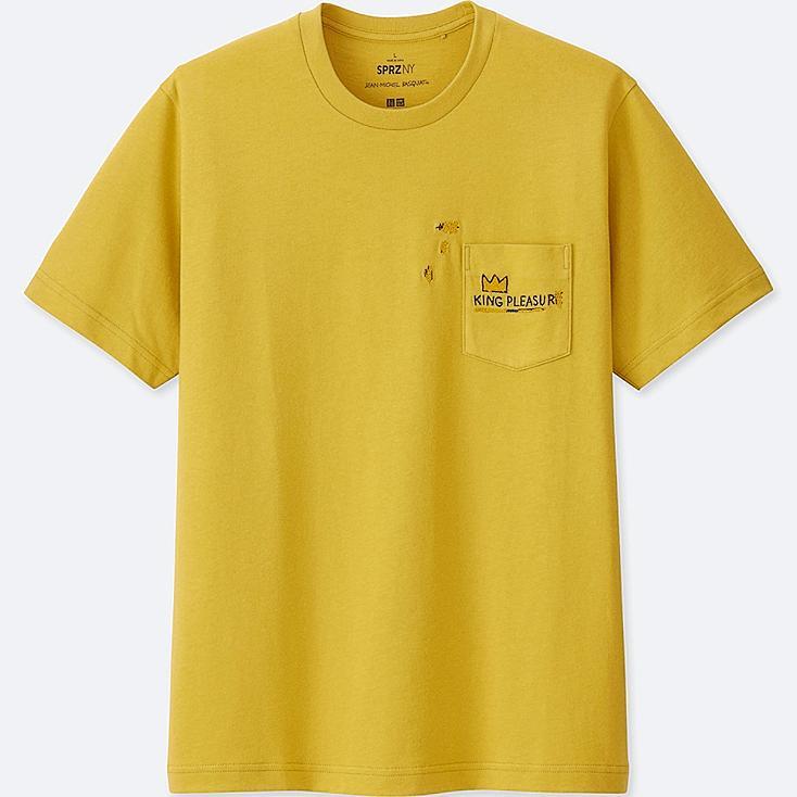 Men Sprz Ny Short Sleeved T Shirt (Jean Michel Basquiat) by Uniqlo