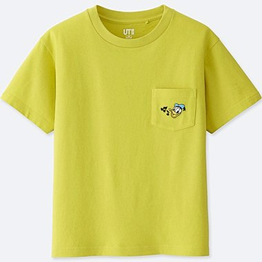 KIDS SOUNDS OF DISNEY GRAPHIC T-SHIRT, YELLOW, medium
