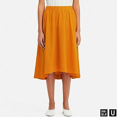 WOMEN UNIQLO U MIDI SKIRT