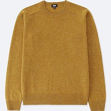 Suéter cuello redondo manga larga HOMBRE