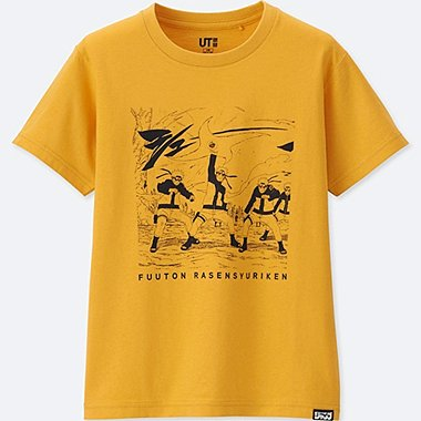 KIDS JUMP 50TH T-SHIRT (Naruto)