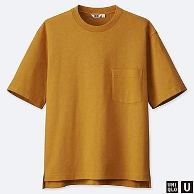 MEN UNIQLO U OVERSIZED CREW NECK T-SHIRT