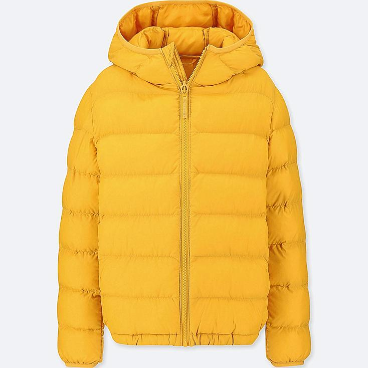 BOYS LIGHT WARM PADDED PARKA, YELLOW, large