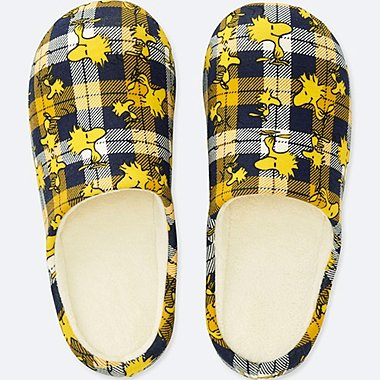 PEANUTS FLEECE LINED SLIPPERS