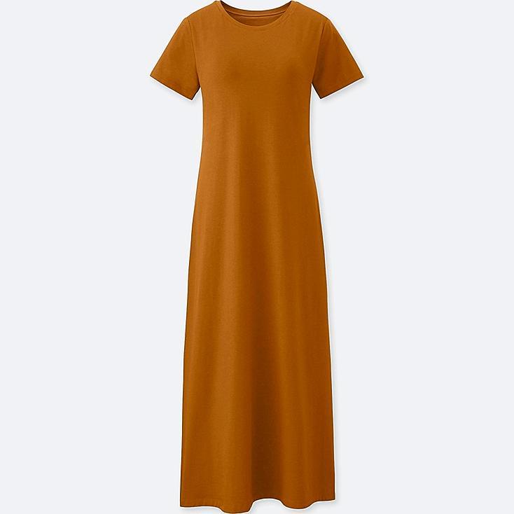 WOMEN LONG BRA DRESS (ONLINE EXCLUSIVE), YELLOW, large