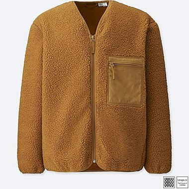 MEN UNIQLO U Fleece Cardigan
