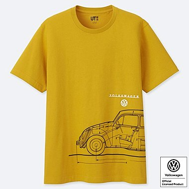 HERREN BEDRUCKTES T-SHIRT THE BRANDS FEAT. VOLKSWAGEN