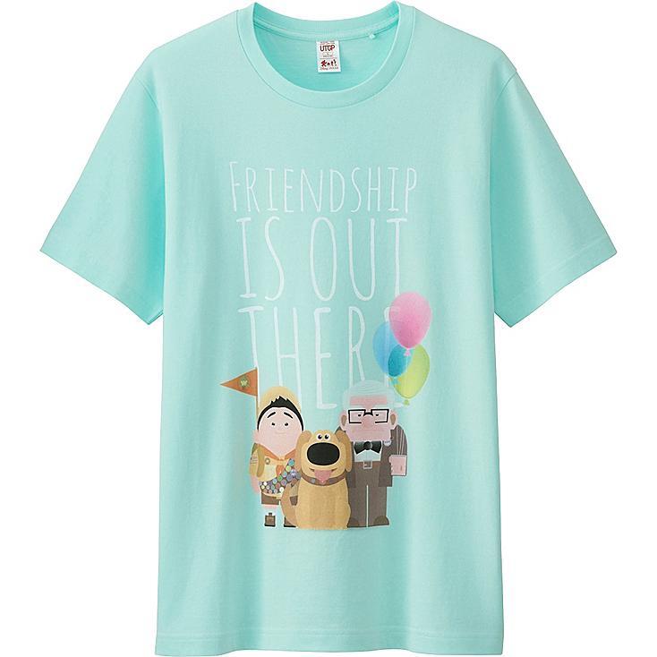 Men UTGP Pixar Graphic T-Shirt, LIGHT GREEN, large