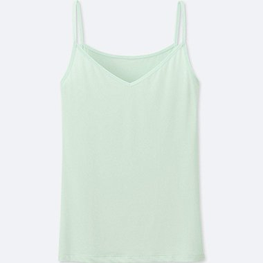 WOMEN AIRism CAMISOLE, LIGHT GREEN, medium