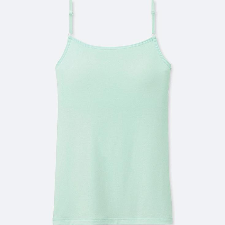 GIRLS AIRism BRA TOP, LIGHT GREEN, large
