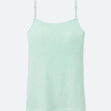 GIRLS AIRism BRA TOP, LIGHT GREEN, medium