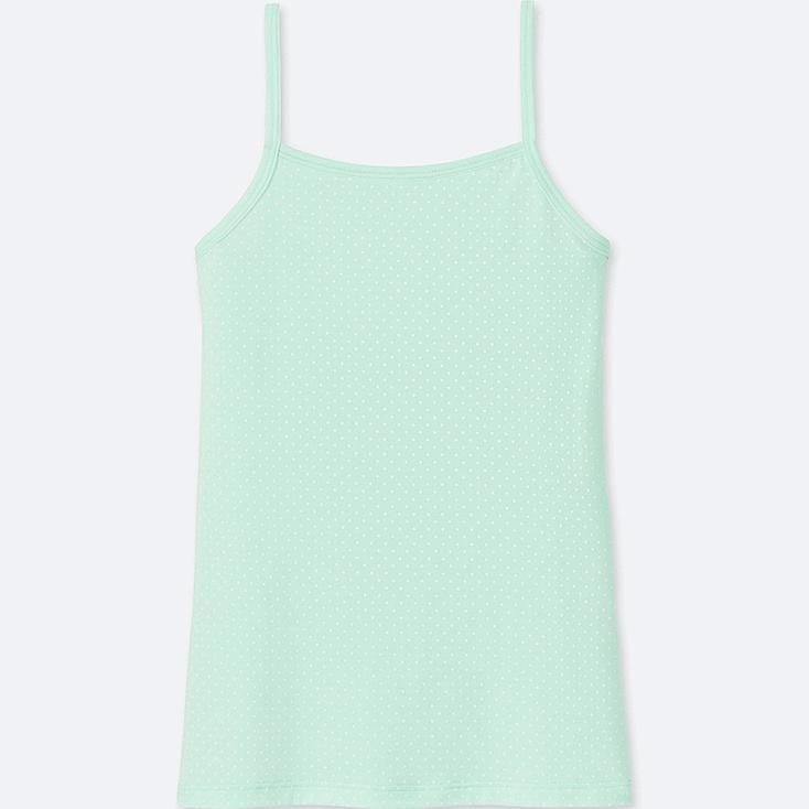 GIRLS AIRism CAMISOLE, LIGHT GREEN, large