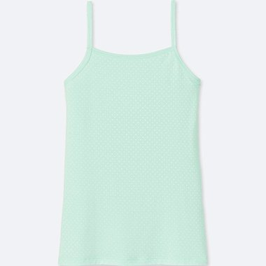 GIRLS AIRism CAMISOLE, LIGHT GREEN, medium
