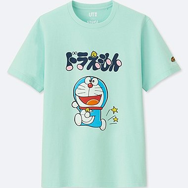 DORAEMON SHORT SLEEVE GRAPHIC T-SHIRT