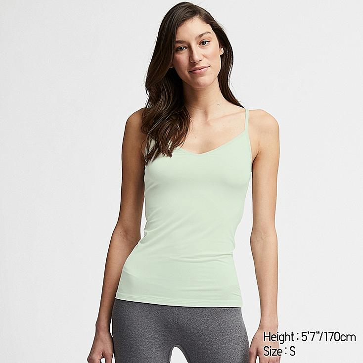 WOMEN AIRism CAMISOLE, LIGHT GREEN, large