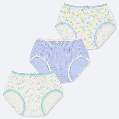 GIRLS SHORTS (SET OF 3), LIGHT GREEN, medium