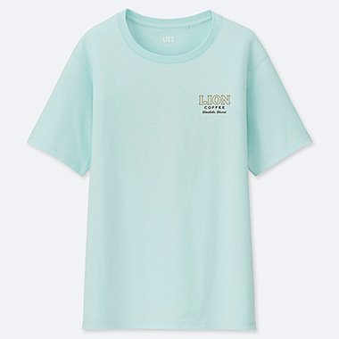 WOMEN THE BRANDS HAWAIIAN LOCO UT (SHORT-SLEEVE GRAPHIC T-SHIRT), LIGHT GREEN, medium