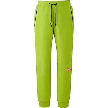 Mens Kei Nishikori DRY Stretch Sweatpants 16FRA, GREEN, medium
