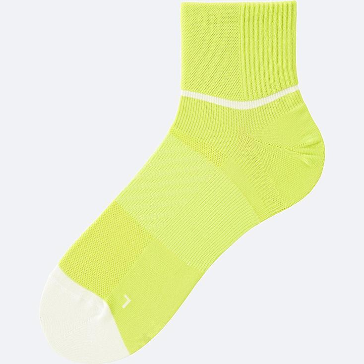 Sports Half Socks, GREEN, large