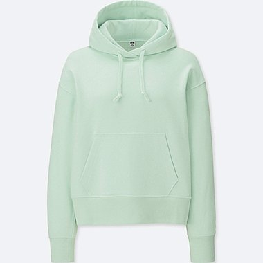 WOMEN LONG SLEEVE HOODED SWEATSHIRT