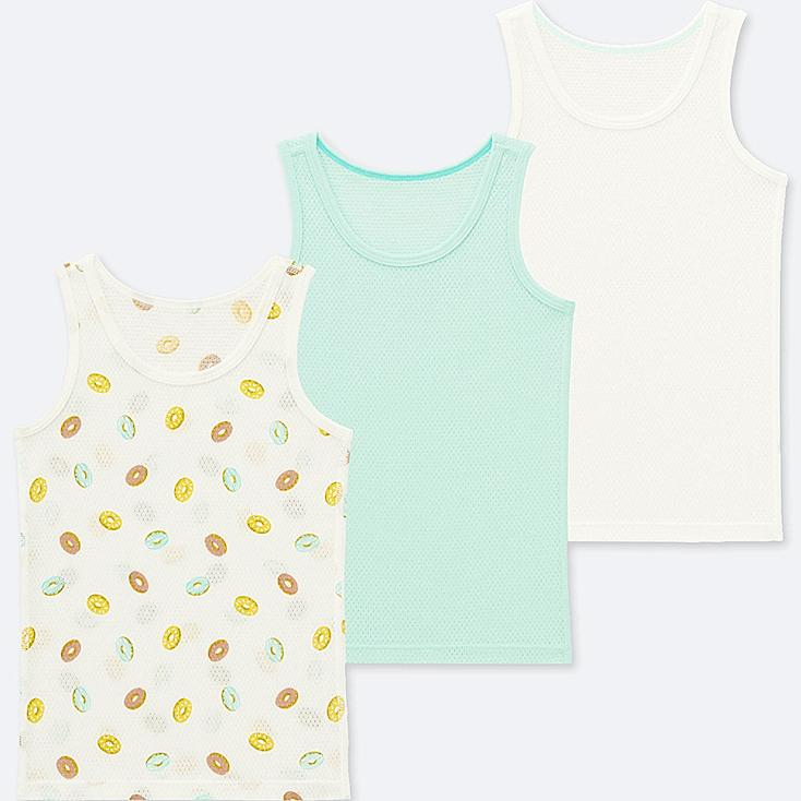 TODDLER COTTON MESH TANK TOP (SET OF 3) | Tuggl