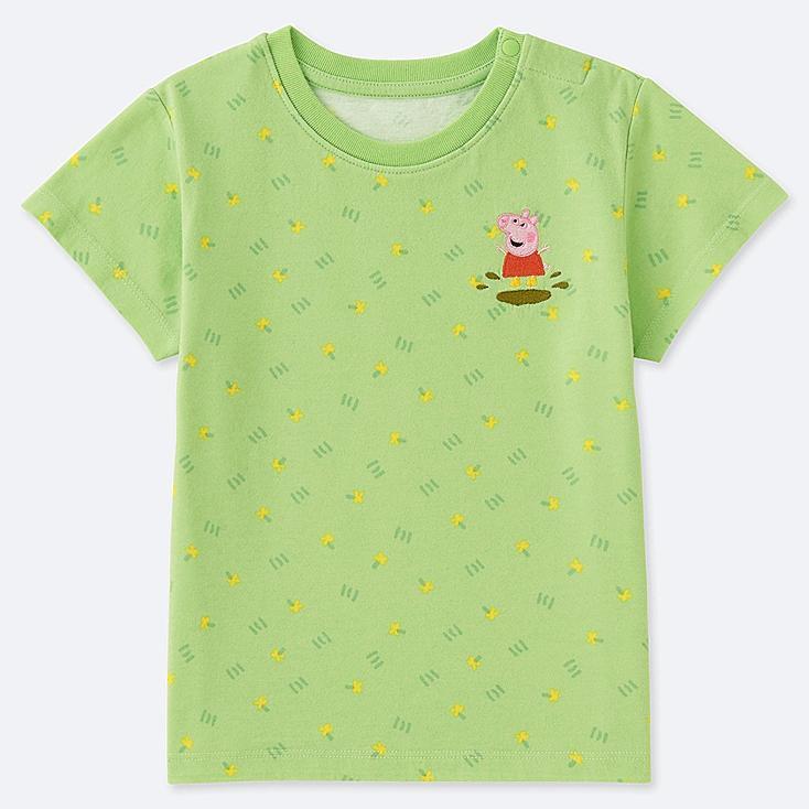 TODDLER PEPPA PIG UT (SHORT-SLEEVE GRAPHIC T-SHIRT), GREEN, large