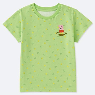 TODDLER Peppa Pig SHORT-SLEEVE T-SHIRT, GREEN, medium