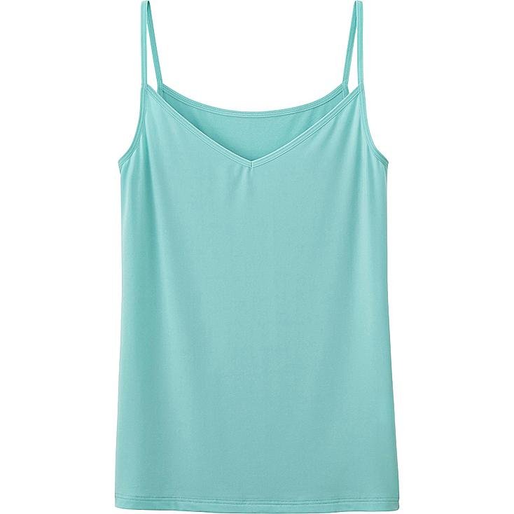 WOMEN AIRism CAMISOLE, GREEN, large