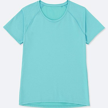 WOMEN DRY COMBINATION SHORT SLEEVE T-SHIRT