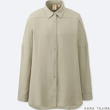 WOMEN HANA TAJIMA OVERSIZED LONG SLEEVE SHIRT