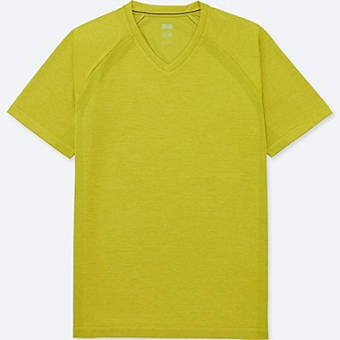 T-SHIRT DRY-EX COL V MANCHES COURTES HOMME