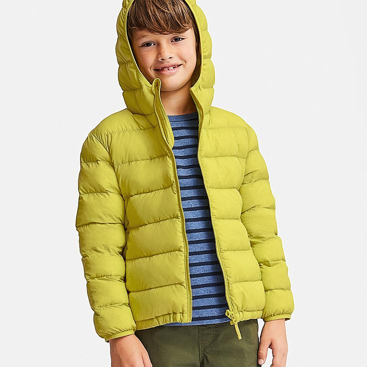 BOYS LIGHT WARM PADDED PARKA, GREEN, large