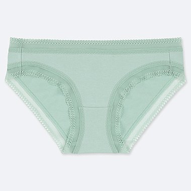 WOMEN BIKINI, GREEN, medium