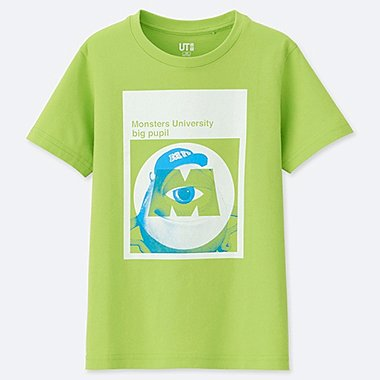 KIDS MAGIC FOR ALL ARCHIVE SHORT-SLEEVE GRAPHIC T-SHIRT (PIXAR), GREEN, medium