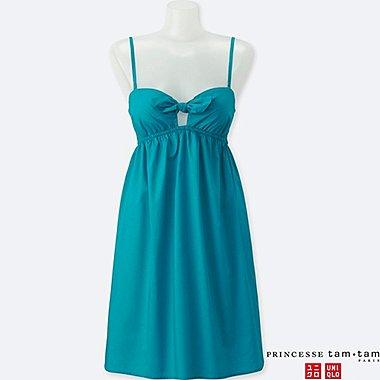 WOMEN (PRINCESSE TAM•TAM) DRESS, GREEN, medium