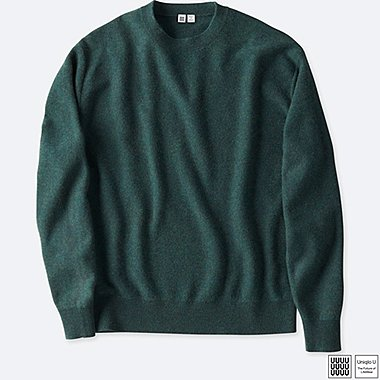 MEN UNIQLO U SOFT LAMBSWOOL CREW NECK SWEATER