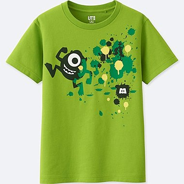 BOYS COLOR OF PIXAR SHORT-SLEEVE T-SHIRT, GREEN, medium