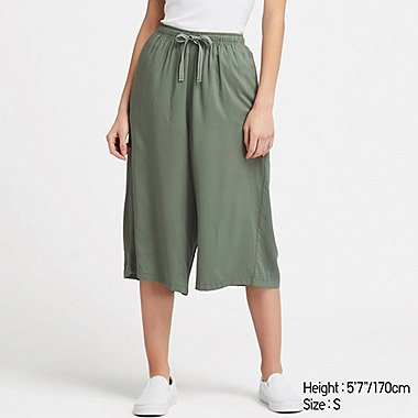 WOMEN RELACO 3/4 SHORTS, GREEN, medium