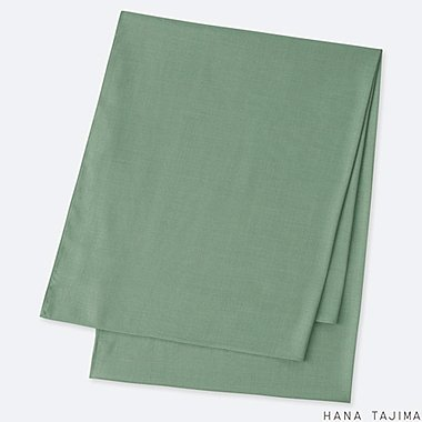 WOMEN STOLE (HANA TAJIMA), GREEN, medium