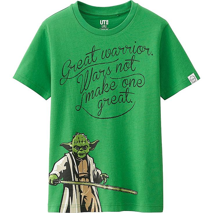 Boys Star Wars Graphic Tee, GREEN, large