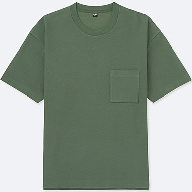 MEN Oversized Short Sleeve Crew Neck T-Shirt