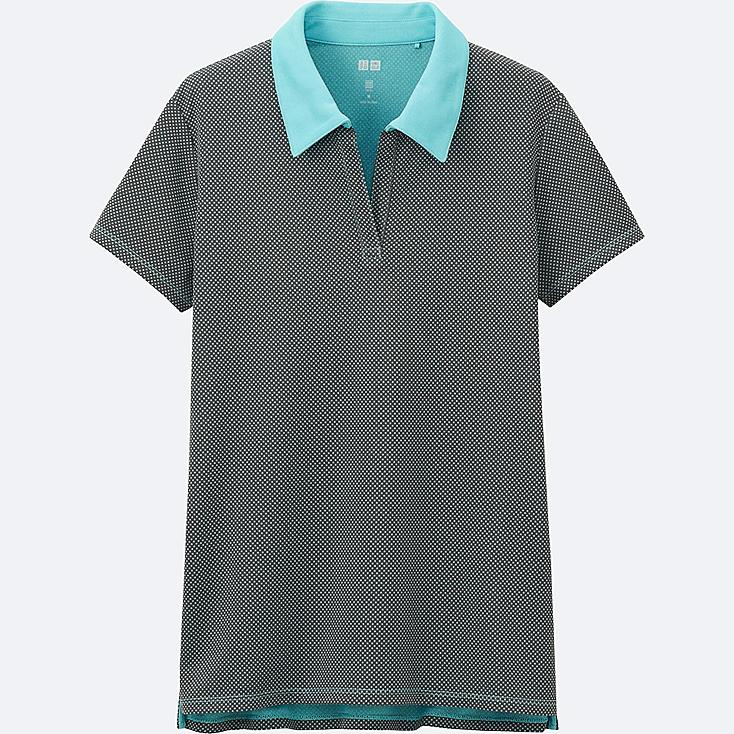 WOMEN Dry-EX Printed Polo Shirt