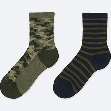 BOYS 2 PAIR REGULAR SOCKS